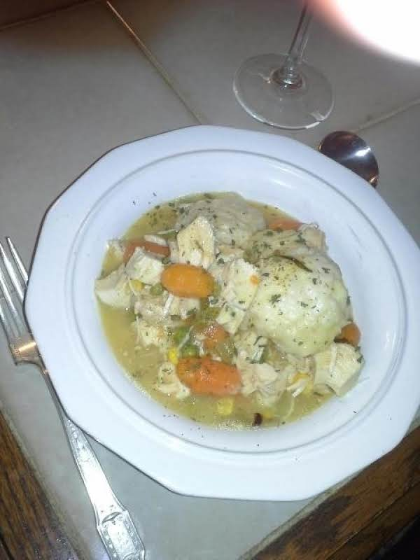 Muz's Chicken And Dumplings Recipe