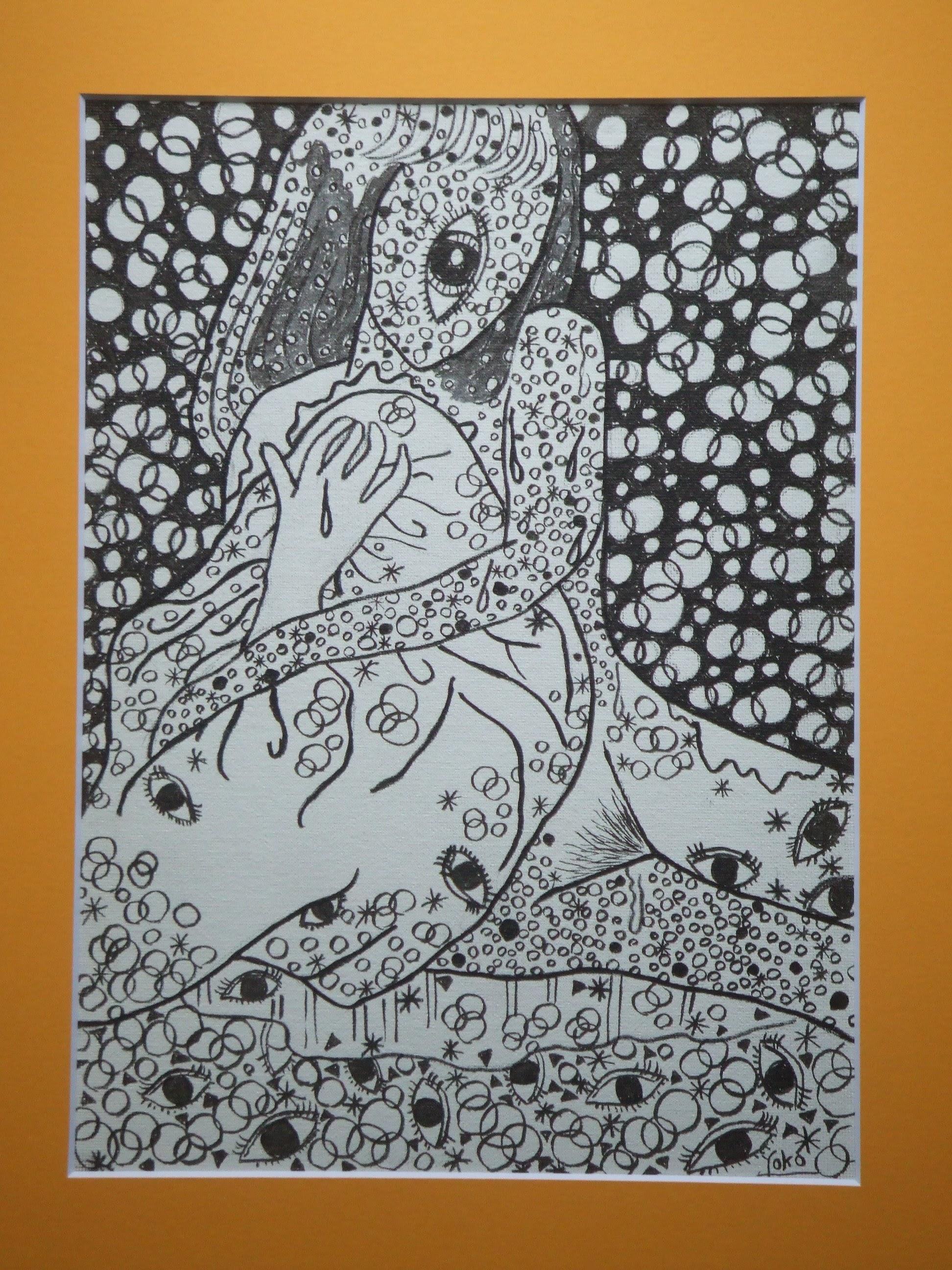 [靴下を織る音はもう聞こえません] - 伊藤 洋子の美術