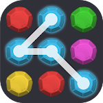 Link Candy Dot - color match link & collect game Icon