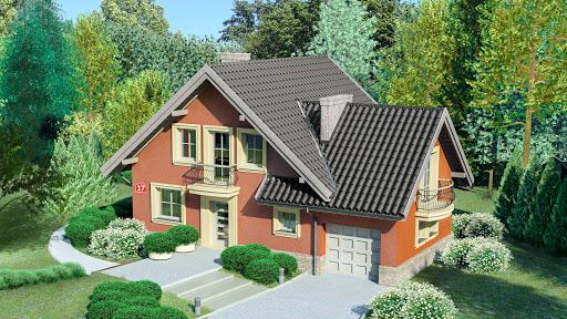 projekt Dom przy Cyprysowej 17