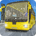 Snow City Bus Passenger Coach Driving Simulator icon