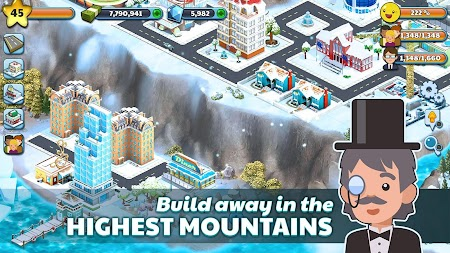 Snow Town - Ice Village World Winter Age APK screenshot thumbnail 10