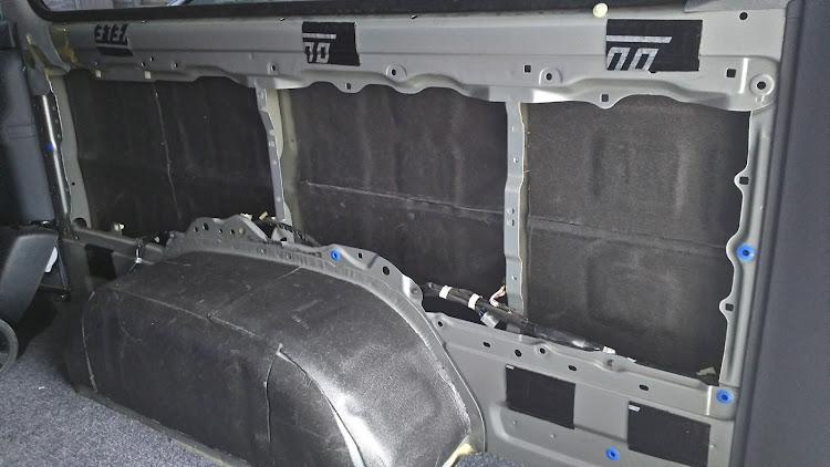 ハイエース TRH112Vの100系ハイエース,デッドニングに関するカスタム&メンテナンスの投稿画像2枚目