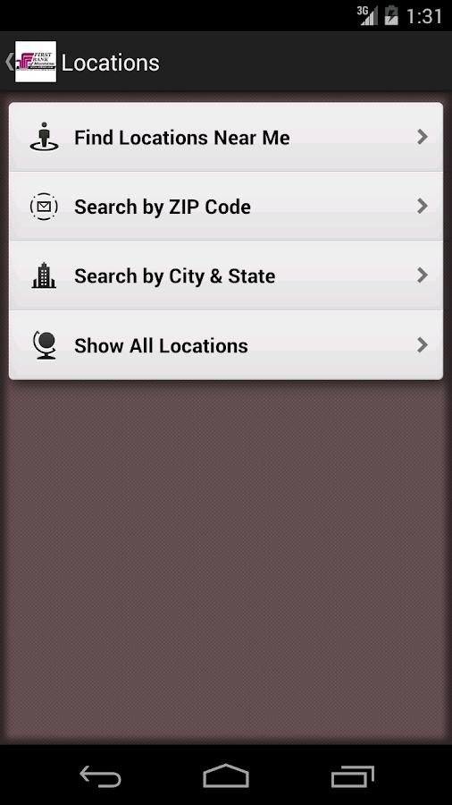 First Bank MT Mobile Banking- screenshot