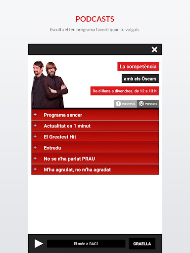 RAC1 Oficial screenshot