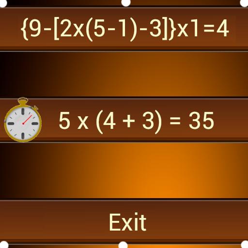 Math Grouping Brackets