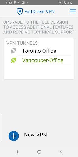 FortiClient VPN 6.2.3.0332 screenshots 2
