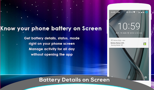 Battery Saver - Battery Doctor, Battery Percentage- screenshot thumbnail