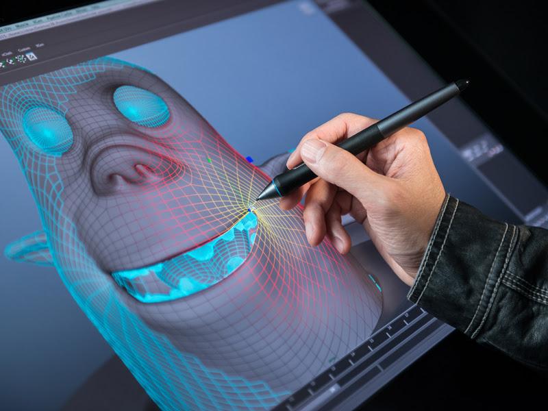 Новые интерактивные перьевые дисплеи Cintiq 27QHD и Cintiq 27QHD touch от Wacom для творческих профессионалов.
