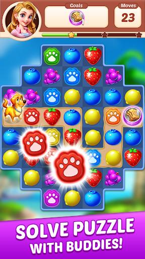 Fruit Genies - Match 3 Puzzle Games Offline apkslow screenshots 4