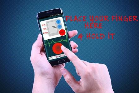 Finger Blood Pressure Prank screenshot 2
