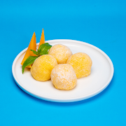 Mango Custard Mochi (4 pcs)