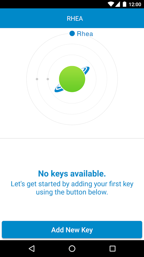 RHEA Salesforce Authenticator- screenshot