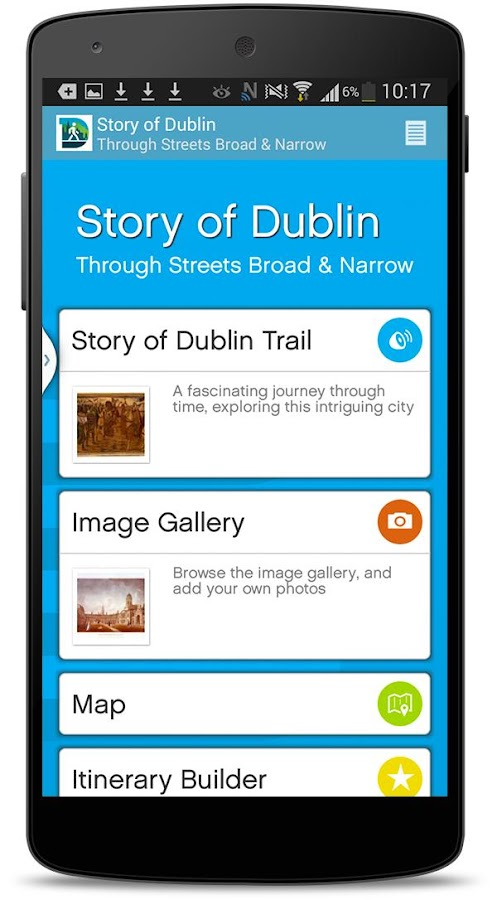 Dublin Discovery Trails- screenshot
