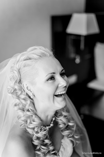 Wedding photographer Artem Lebedinskiy (ArtSoft). Photo of 15.02.2016
