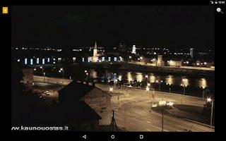 Screenshot of Lietuvos kameros
