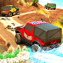 Real Offroad Jeep 4X4 Driving Simulator Racing SUV icon