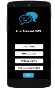 Auto Forward SMS to another number & email - náhled