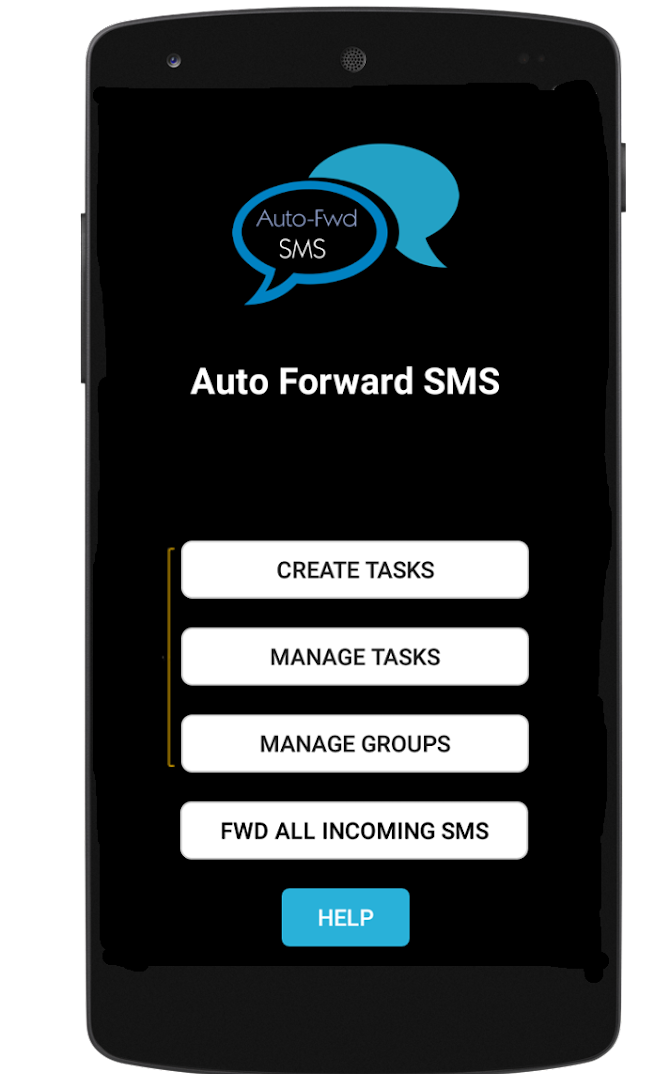 Auto Forward SMS to another number & email Android 1
