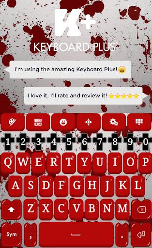 Blood Keyboard Theme