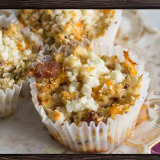 Low Carb Bacon and Cheese Muffins Recipe