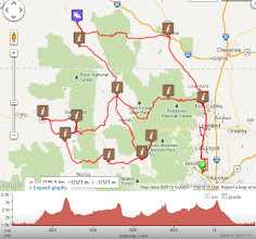 Photo: 2012 CHC1200 route by Ride with GPS.