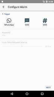 Alarm Manager - náhled