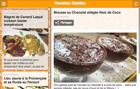 Recettes pour diabétiques - screenshot thumbnail