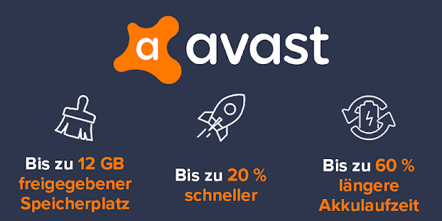 Avast Cleanup, Booster, Phone-Cleaner, Optimierer Screenshot