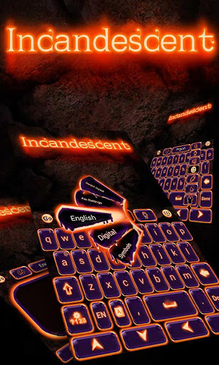 Incandescent GO Keyboard Theme
