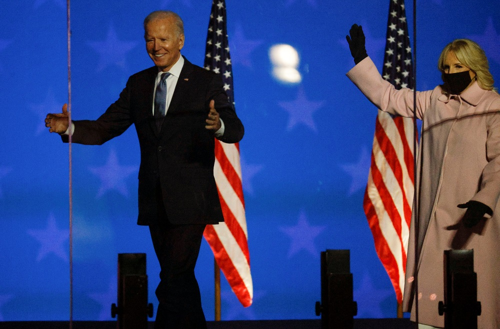 Biden close to White House victory as he builds leads in Pennsylvania, Georgia