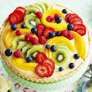 Classic Fruit Tart.