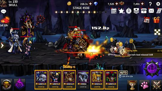 Skull Arena: Idle Hero RPG