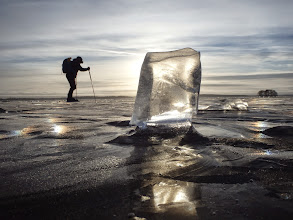 Photo: 001 Little man - big ice