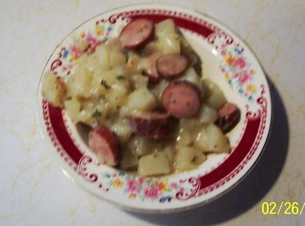 Frankfurter Tater  Hash-crockpot Recipe