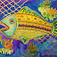 Fishy by Vijay Govender - Painting All Painting (  )