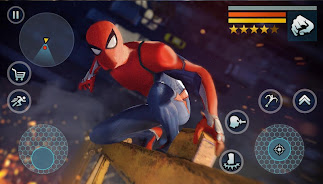 Spider Rope Gangster Hero Vegas - Rope Hero Game
