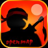 Ninja heroes open map
