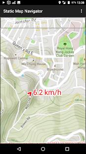 Static Map Navigator - náhled