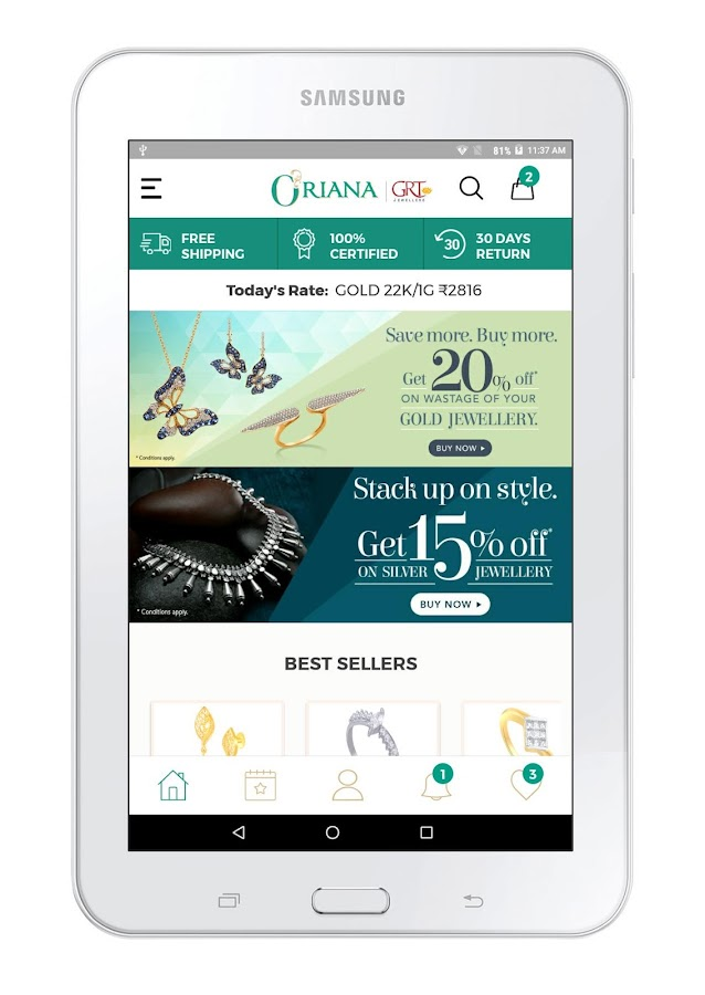 Oriana Jewellery Shopping - From the house of GRT- screenshot