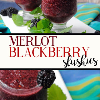 Merlot & Blackberry Wine Slushies