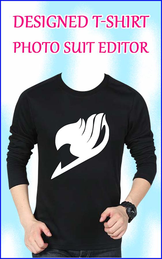 Men Design T Shirt Photo Suit T Shirt Photo Editor