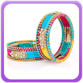 Silk Thread Bangle Gallery
