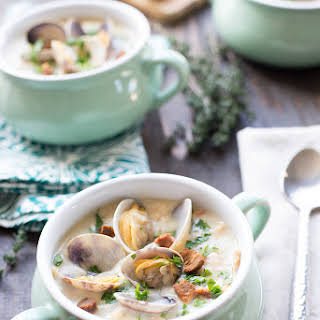 Best Ever New England Clam Chowder.