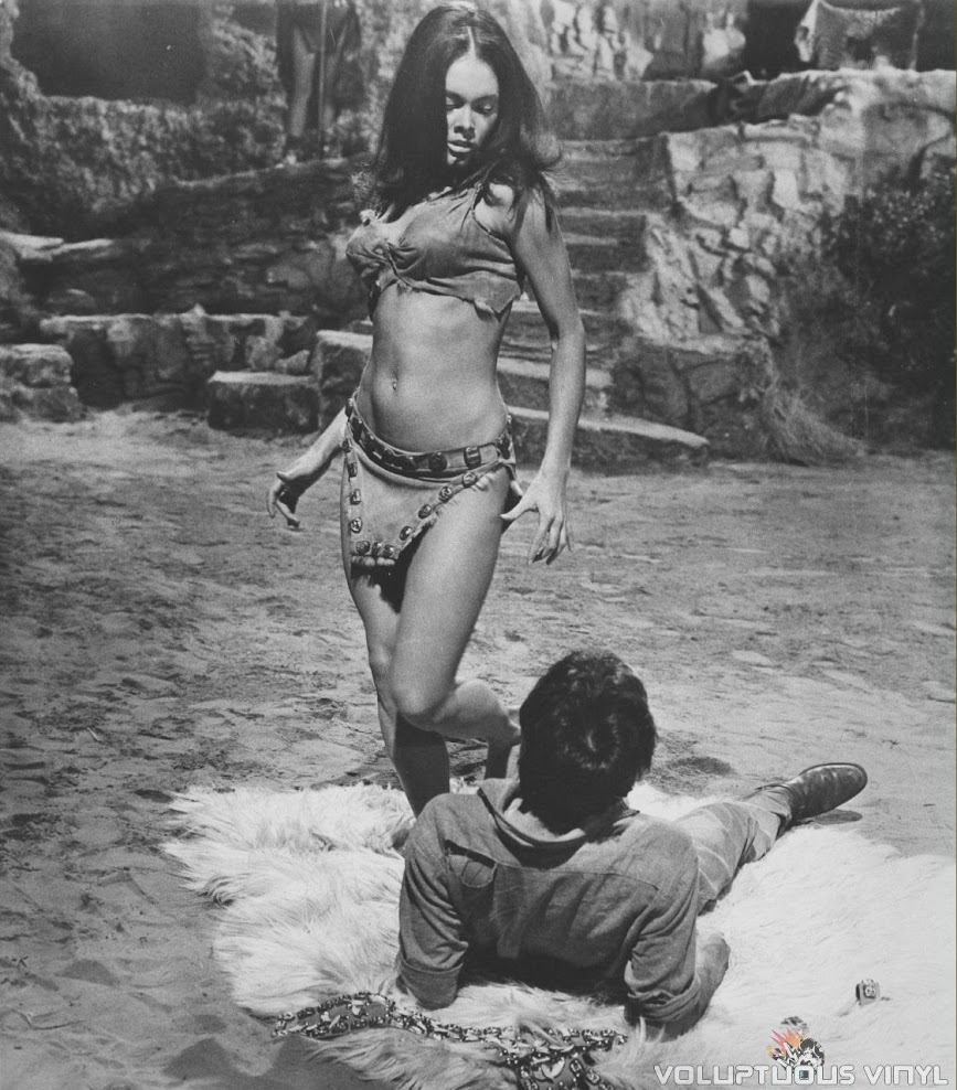 Martine Beswick in Hammer's Slave Girls
