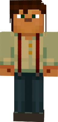 This is the Story Mode Jesse Skin! by xxBurn77xx Original Have Fun!