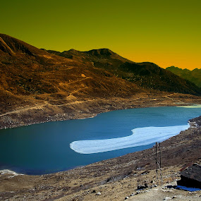 Elephant Lake by Saikat Datta - Landscapes Mountains & Hills