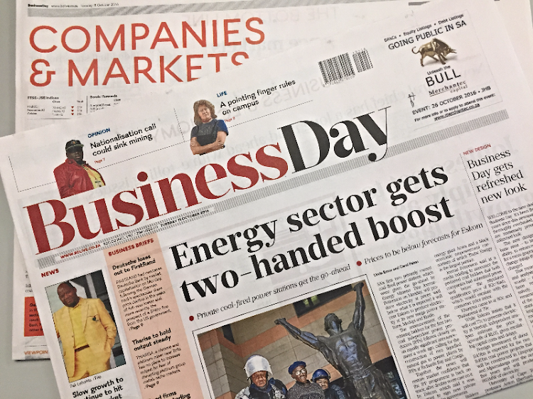 The new look Business Day