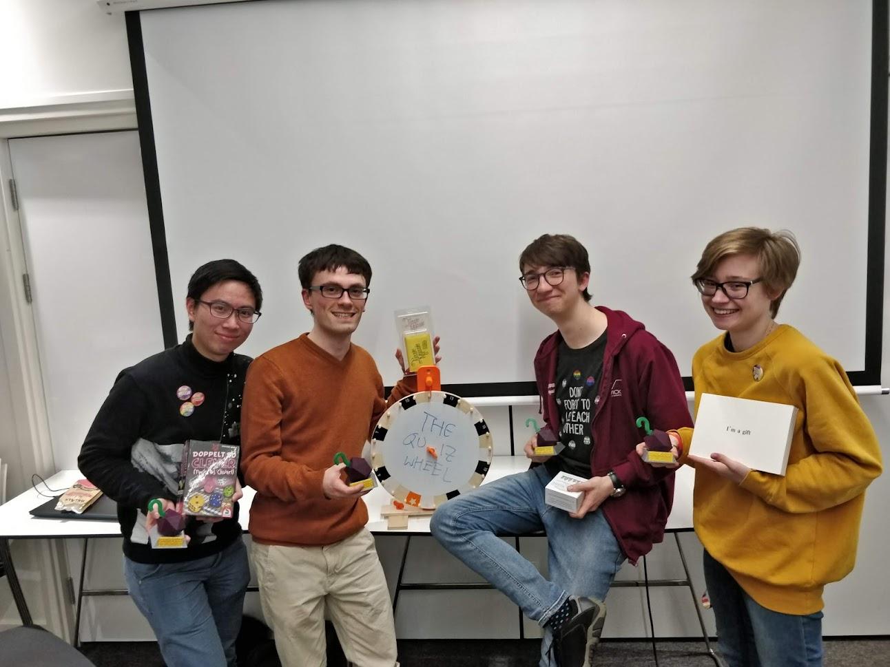 Quiz Winners Photo