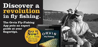 Orvis fly fishing android app on appbrain for Fly fishing apps